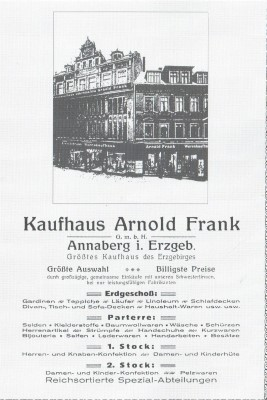 Arnold Frank Kaufhaus (Andere)